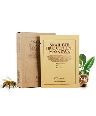 Snail Bee High Content Mask Pack (10 pcs)