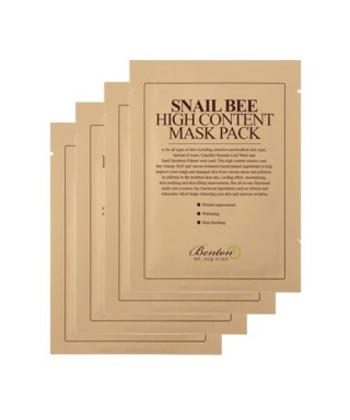 2 For 2 Snail Bee High Content Mask Pack