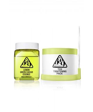 Lemon Green Caviar Essence & Tox Tightening Pack
